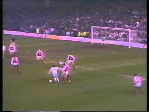 WEST HAM UNITED FC - BBC GRANDSTAND - ARSENAL V WEST HAM (0-1) FA CUP 3RD ROUND 1989