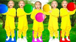Five Little Monkeys - Vitalina Life Nursery Rhymes & Kids Songs