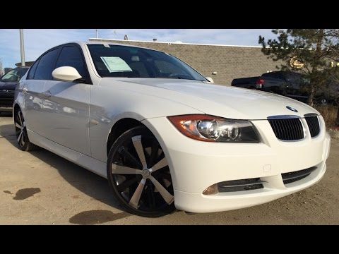 Pre Owned White 2008 Bmw 3 Series 328i Rwd In Depth Review Lethbridge Alberta