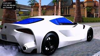 2017 Toyota Supra FT-1 New ENB Top Speed Test GTA Mod Future