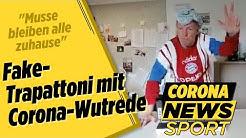 Fake-Trapattoni mit Corona-Wutrede | Corona News Sport