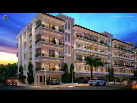 Canvas@85 - 3 BHK Floors  in Wave Estate Sector 85 Mohali.