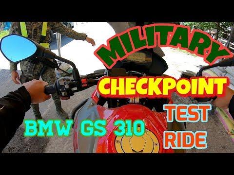 BMW GS310 TEST RIDE | MINDANAO CHECKPOINT
