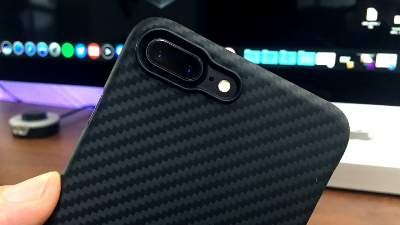 promo code 63e66 b7451 Body Armor Grade Case For iPhone 7 Plus - Pitaka Aramid Fiber Case Review