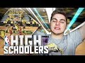 BEST PLAYERS FROM HIGH SCHOOL! SQUAD BUILDER CHALLENGE vs TDPRESENTS! NBA 2K17