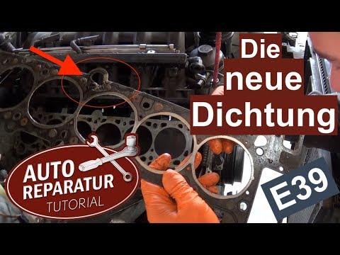 Das BMW E39 Projekt - Zylinderkopfdichtung wechseln M52 Teil 2 | Auto Tutorial