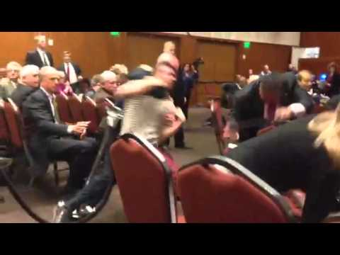 Choke hold and tackle at uc regents