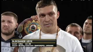 Александр Усик vs. Табисо Мчуну  - Весь бой - Интер