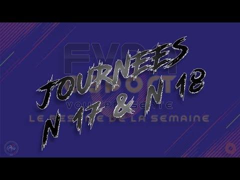 Une semaine en Ligue 1 FVPA PC – J17 et J18