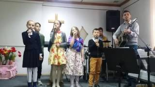 Program de Paște - copiii (Nisporeni Biserica Sfânta Treime )