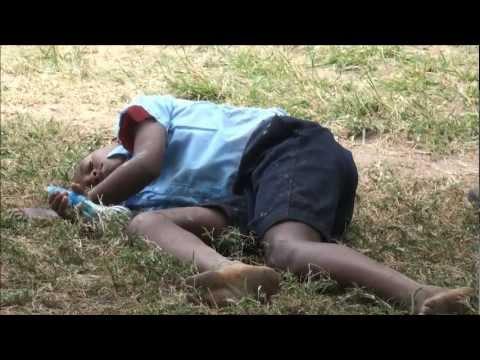 Water pistol fight Africa - children die