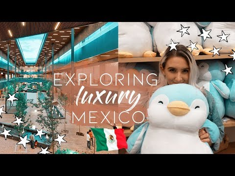 AMERICANS VISIT LUXURY MALL IN MEXICO | ANTEA LIFESTYLE CENTER