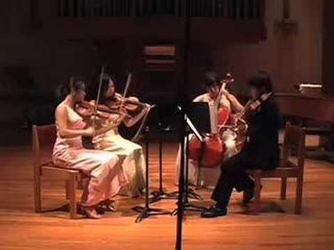 The Attacca Quartet playing Shostakovich's Quartet...