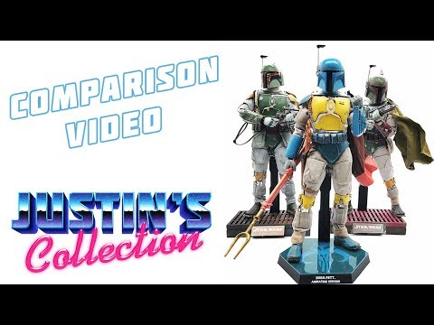 Hot Toys Animated Boba Fett Comparison Video