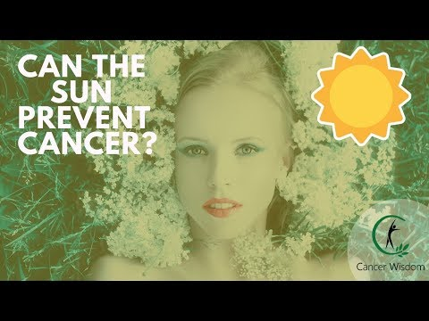 No, The Sun Doesn't Cause Skin Cancer! - How To Prevent Cancer With Sunshine
