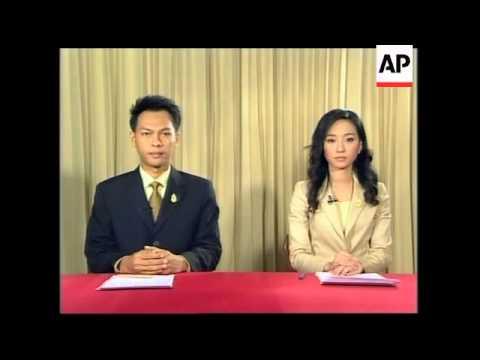 Thai military council announces interim constitution