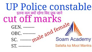 UP Police constable cut off marks 2018 /upp cut off