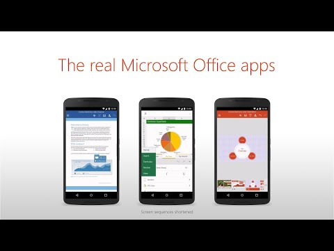Starting Today you can get Microsoft Office for Android On Your Smartphone