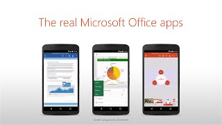 حزمة Microsoft Office متاحة الآن لهواتف الأندرويد عبر متجر Google Play
