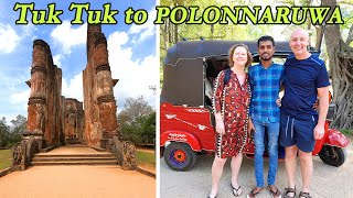 Tuk Tuk to the Ancient City of Polonnaruwa, Sri Lanka 🇱🇰
