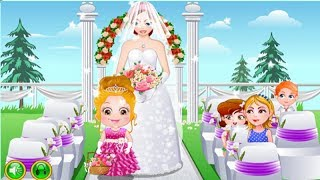 Baby Games - Baby Hazel Flower Girl - Top Baby Games