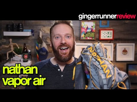 NATHAN VAPORAIR HYDRATION PACK REVIEW  The Ginger Runner
