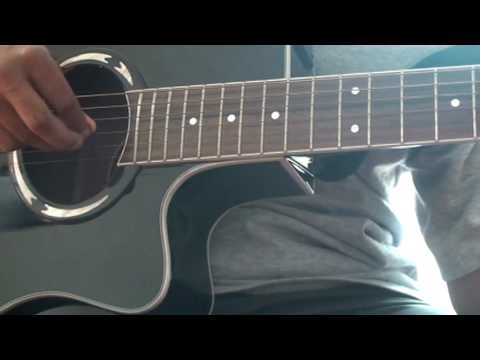 How to play Hotel California on acoustic guitar part 1- intro