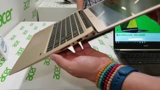 Acer Swift 1, Swift 3 und Swift 5 - Die neue Notebook-Reihe im Hands-On