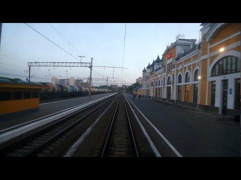 От станции Томск-I до Томск-II из окна последнего вагона
