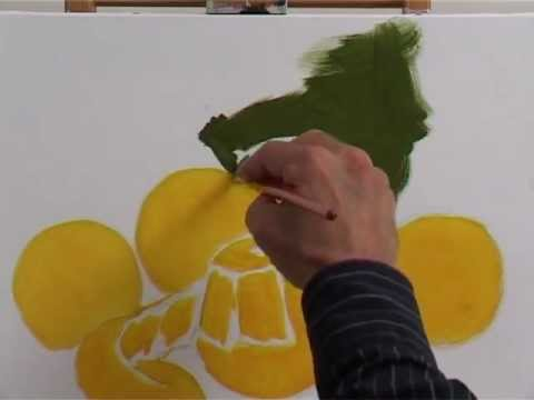 Peinture  LHuile  Fruits  Ltude  Youtube