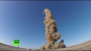 Минобороны опубликовало видео испытания новой ракеты системы ПРО