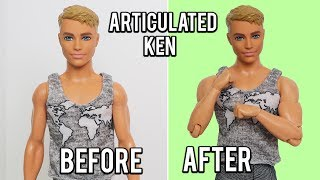 How to Body Swap to Make Articulated Ken Dolls!