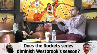 Joy Taylor and Nick Wright talk NBA Playoffs (Streamed Live on 4/20/17) | THE HANG