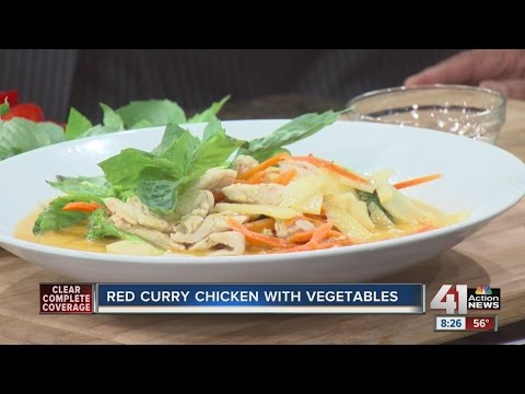 RECIPE: Red curry chicken with vegetables