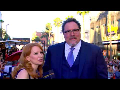 Jon Favreau Brings Happy Back at the Spider-Man: Homecoming Red Carpet World Premiere