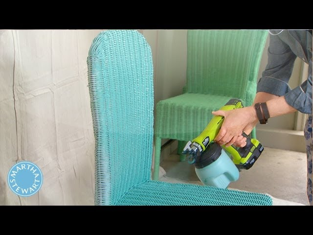 How To Paint A Cane Chair: 8 Steps (with Pictures)   WikiHow