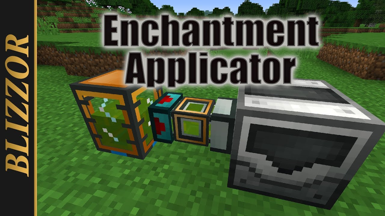 Industrial Foregoing - Enchantment Applicator [Tutorial ...