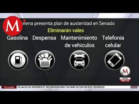 Por unanimidad, el Senado aprueba el plan de austeridad