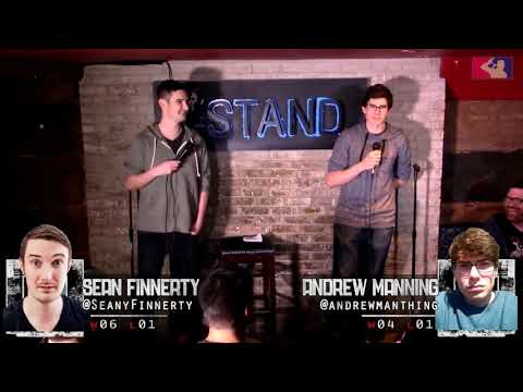 The RoastMasters 5.22.18 Spring Tournament: Andrew Manning vs. Sean Finnerty