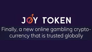 Joy Token : A New Online Gaming Cryptocurrency - JOY Token ICO