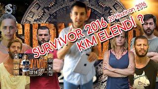 Survivor 2016 Kim Elendi / Nagihan mı ibrahim mi ?