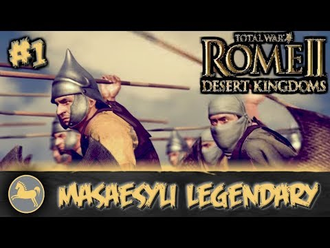 Total War: Rome II - Desert Kingdoms - Masaesyli Legendary Campaign #1
