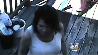 Caught On Camera: Accused Serial Arsonist Sets Patio Furniture On Fire In La