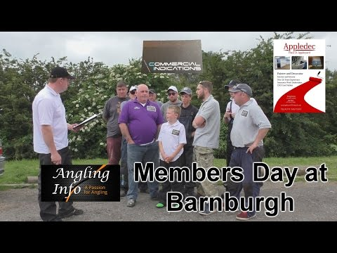 Angling Info Barnburgh Members Day