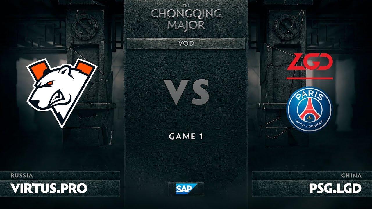 [EN] Virtus.pro vs PSG.LGD, Game 1, The Chongqing Major UB Round 2