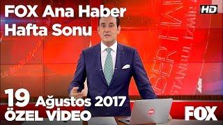 Ankara Emniyet Müdürü emekliliğini istedi... 19 Ağustos 2017 FOX Ana Haber Hafta Sonu