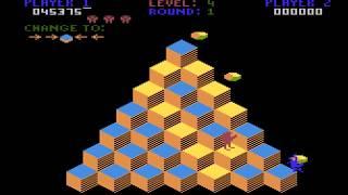 Qbert Atari 800 longplay
