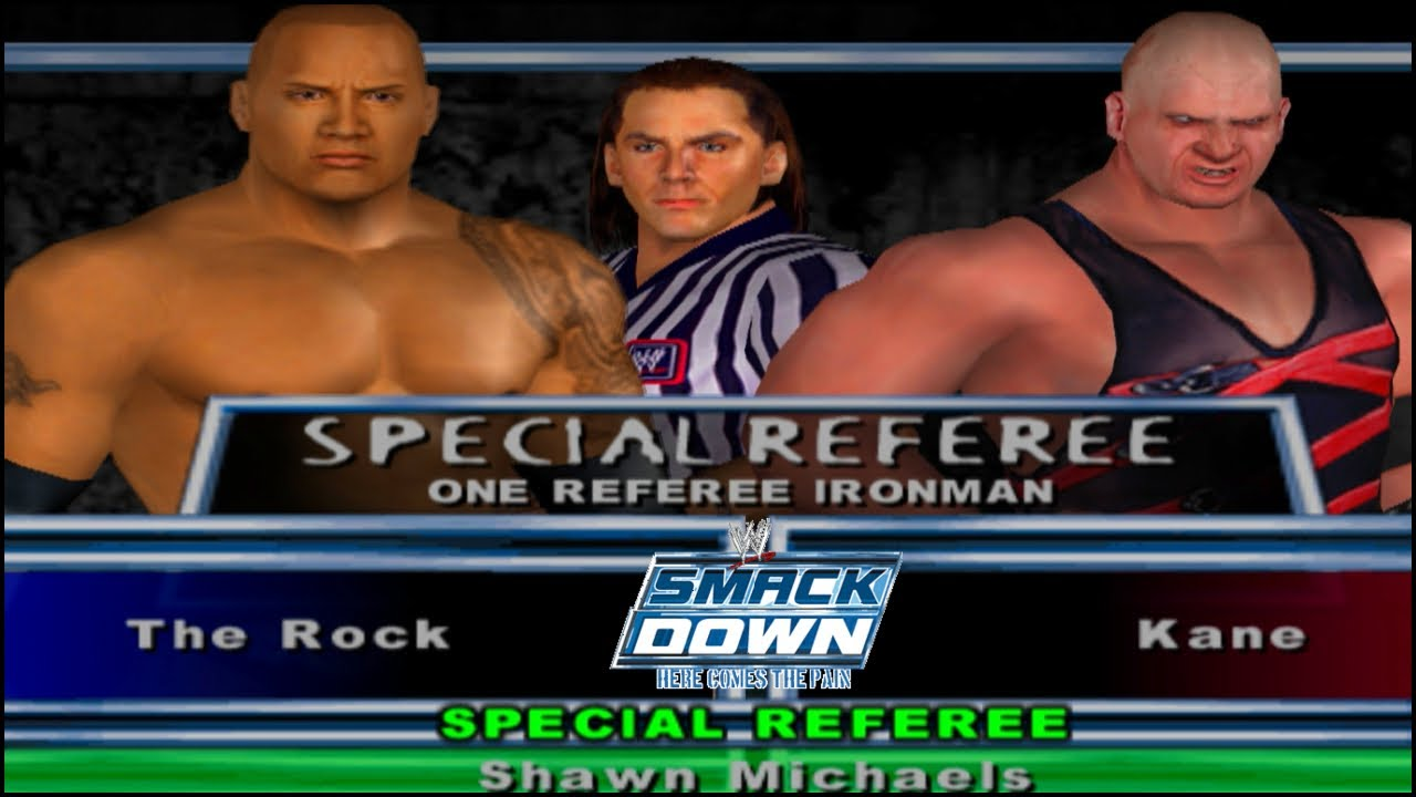 WWE Smackdown Here Comes The Pain SPECIAL GUEST REFREE Gameplay | Special Guest REFREE Gameplay 2020