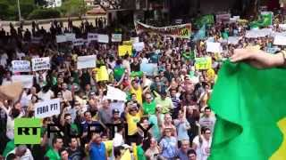 "Brazil: Thousands rail against victorious ""socialist-communist"" Dilma Rousseff"