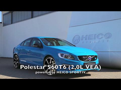 HEICO SPORTIV - Volvo S60 T6 Polestar with 400 hp